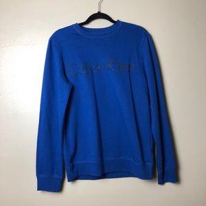 Calvin Klein crewneck sweater logo sweatshirt